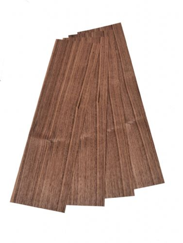 "Quartered cut American Walnut 4 leafs 22"" x 6"" ( 56 x 16 cm )"